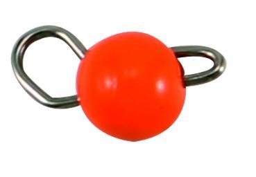 0,75 g Tungsten Cheburashka orange Paladin(flexibler Jigkopf)