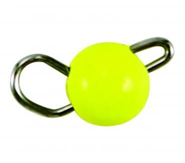 0,6 g Tungsten Cheburashka gelb Paladin(flexibler Jigkopf)