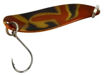FTM Hammer Spoon 2,4 gramm camouflage/orange UV
