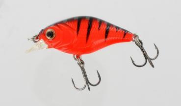 Jenzi Wobbler Baby Trout Schwimmend 4,5 g Farbe Fire Perch