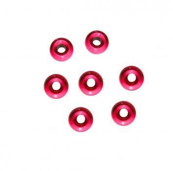 Tungsten Perle 2,8 mm Pink Jenzi