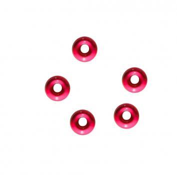 Tungsten Perle 4,0 mm Pink Jenzi